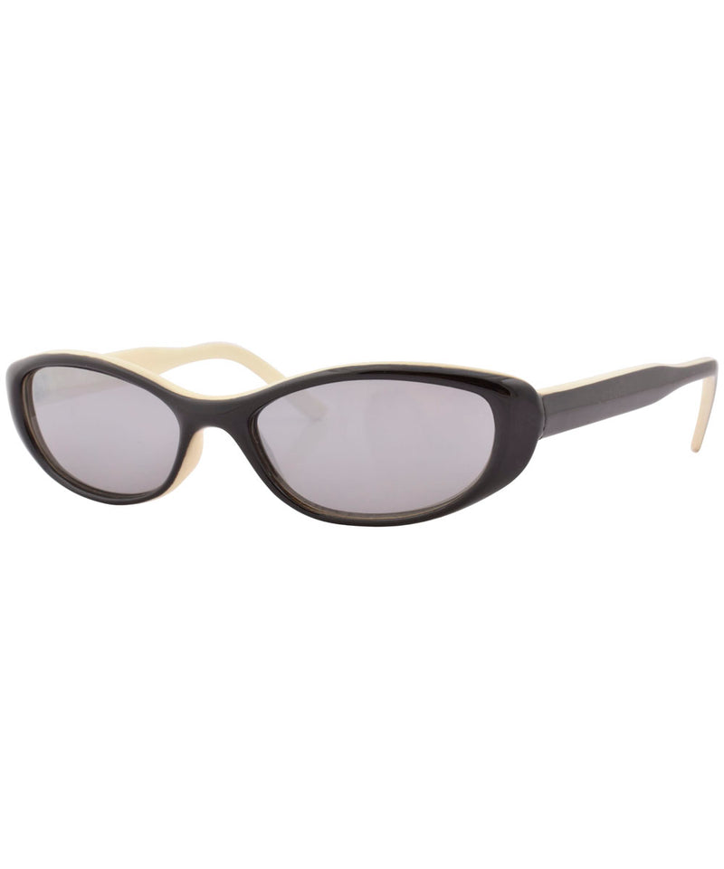 boozie black white sunglasses