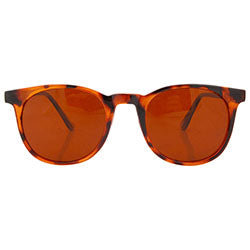 brophy tortoise rust sunglasses