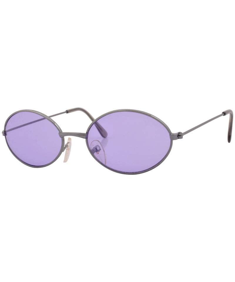 bruce purple gun sunglasses