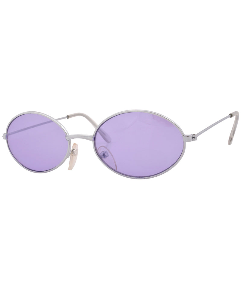 bruce silver purple sunglasses