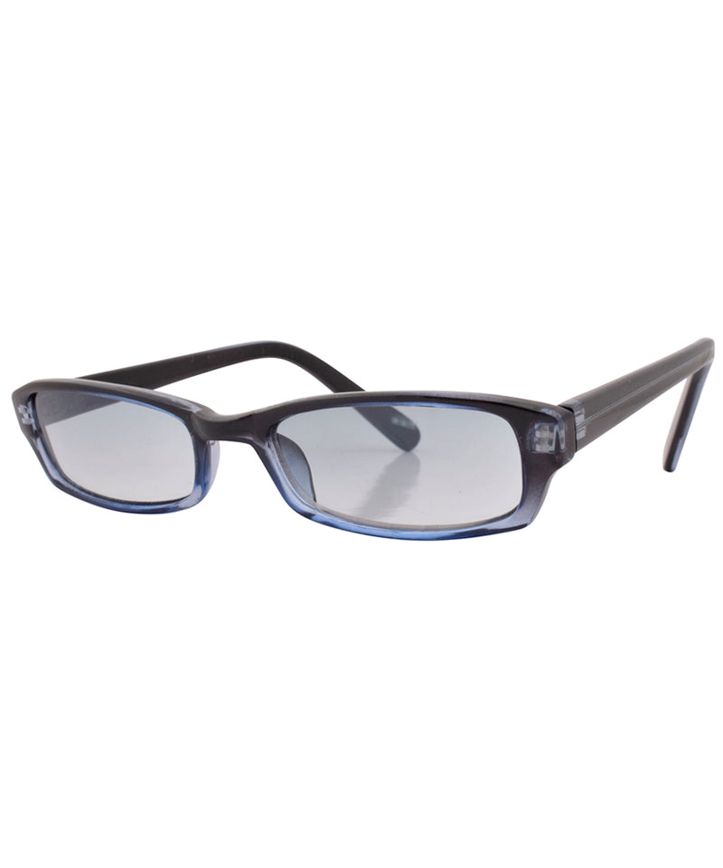bubez black blue sunglasses