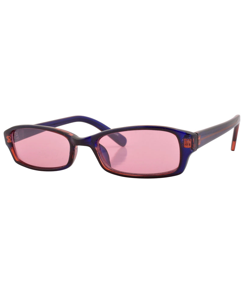bubez cobalt rose sunglasses