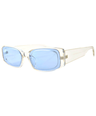 buck up crystal blue sunglasses