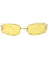 buck up crystal yellow sunglasses