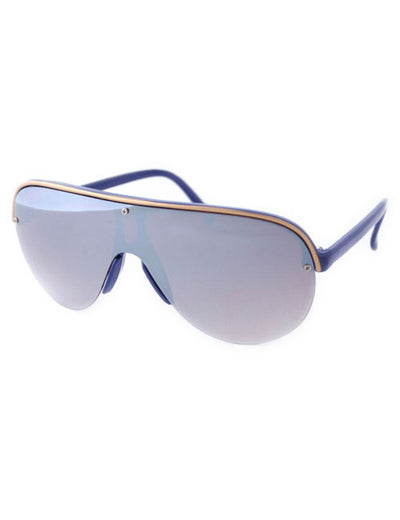 buckle blue sunglasses