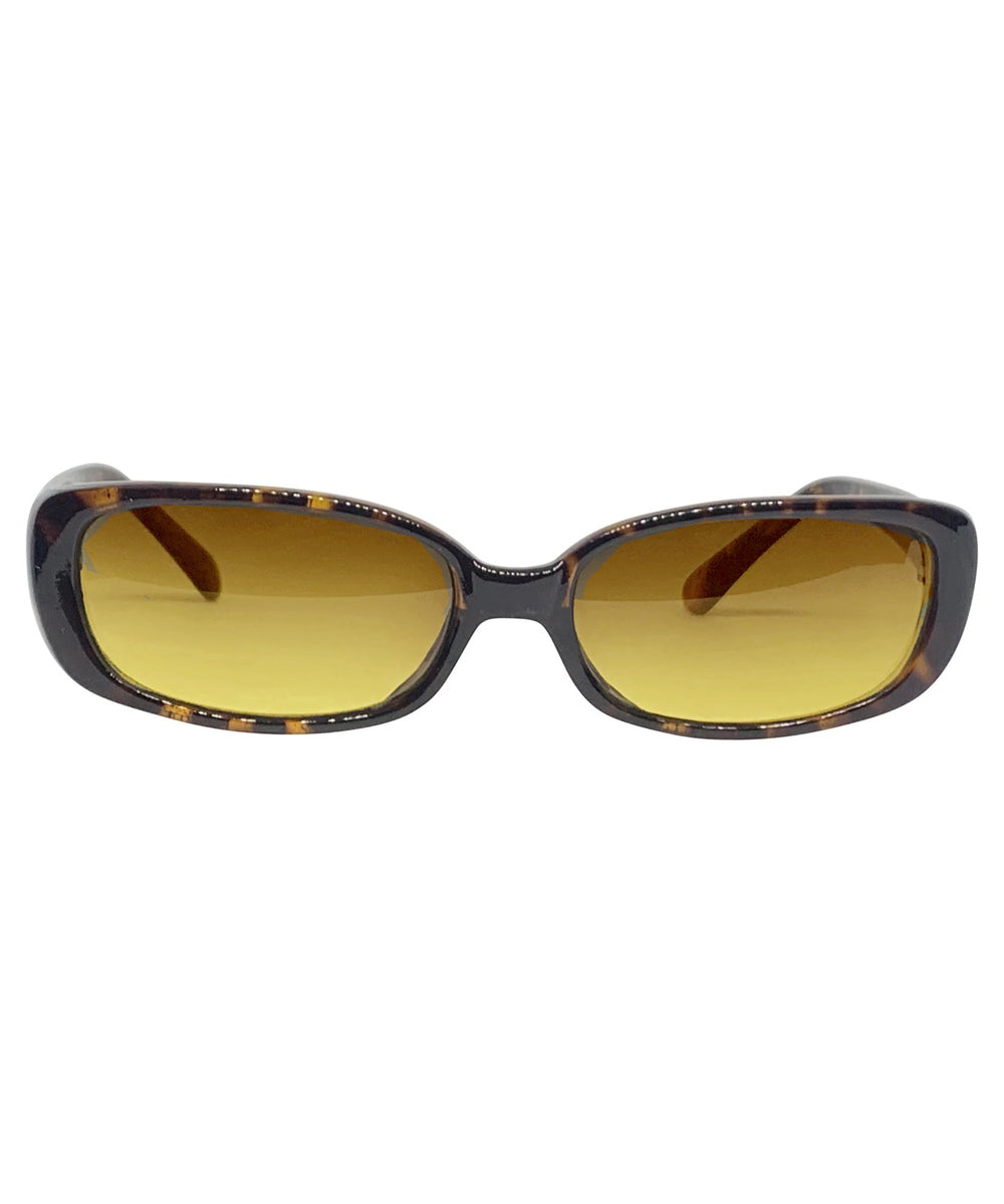 BUGGIN' Tortoise and Bayou 90s Square Sunnies