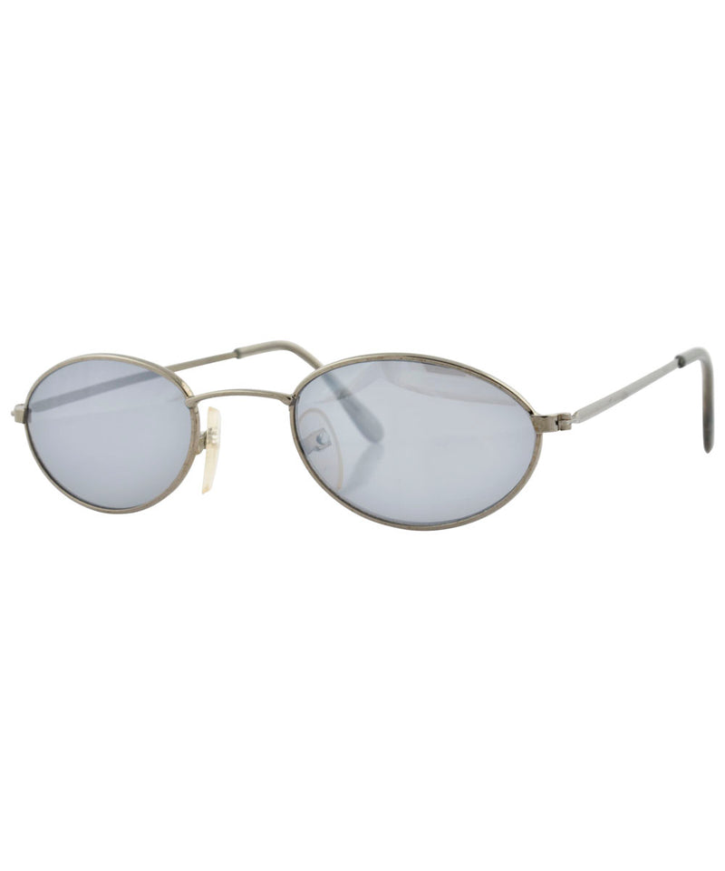 bump gunmetal sunglasses