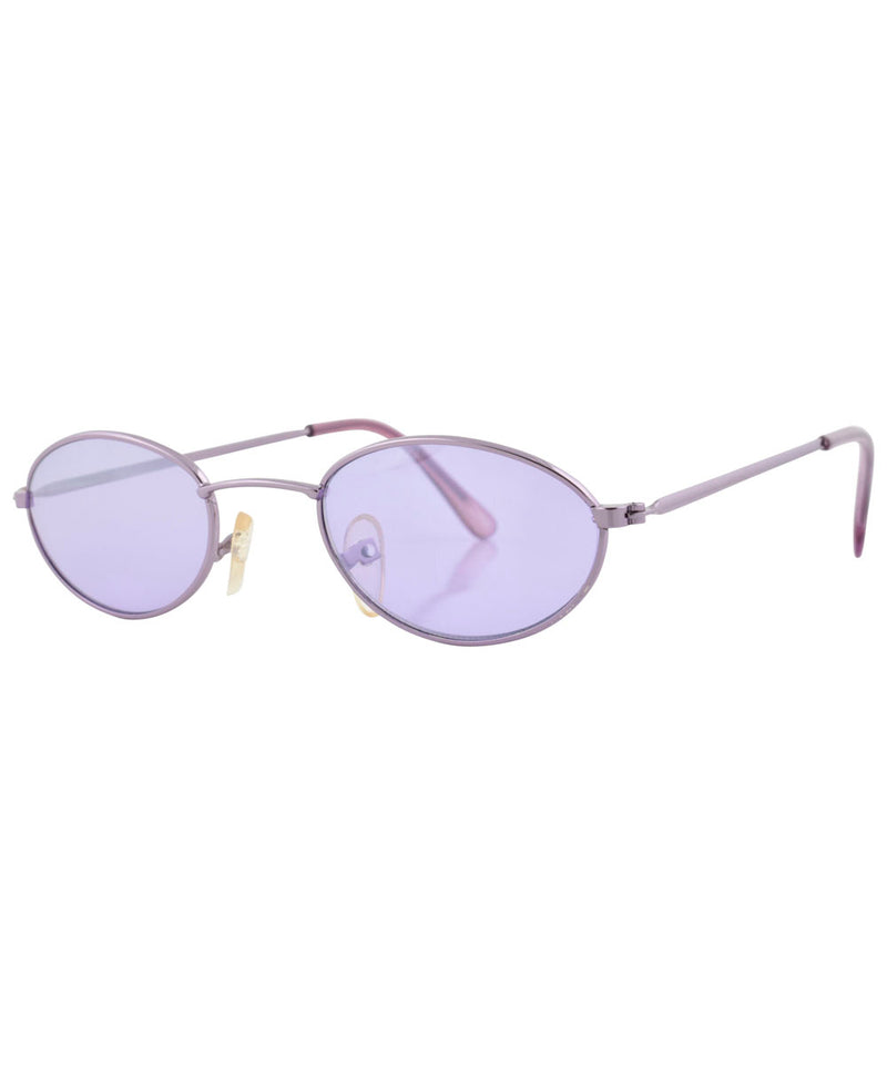 bump purple sunglasses