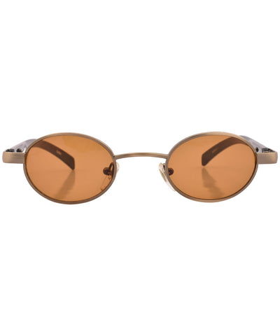 bunches brass sunglasses