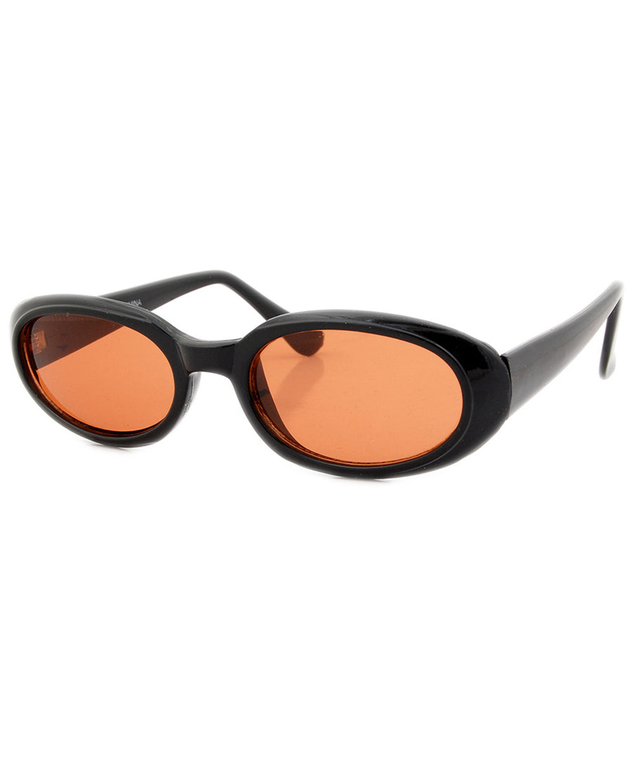 burger orange sunglasses
