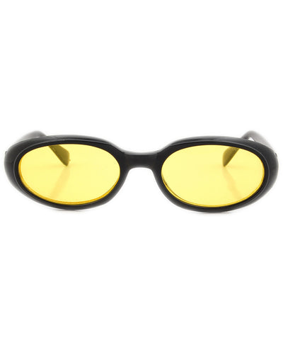 burger yellow sunglasses
