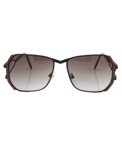 butters black smoke sunglasses