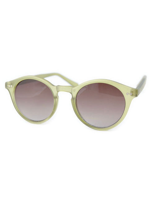 camptown matte green sunglasses