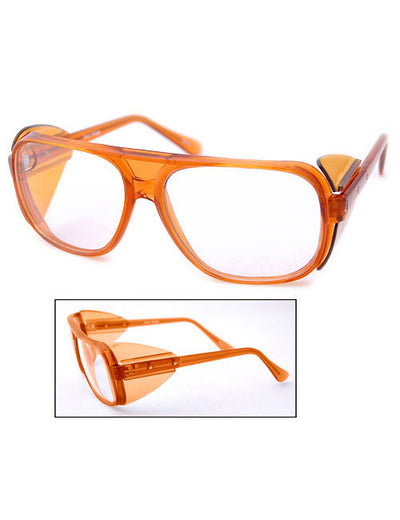 carmine orange sunglasses