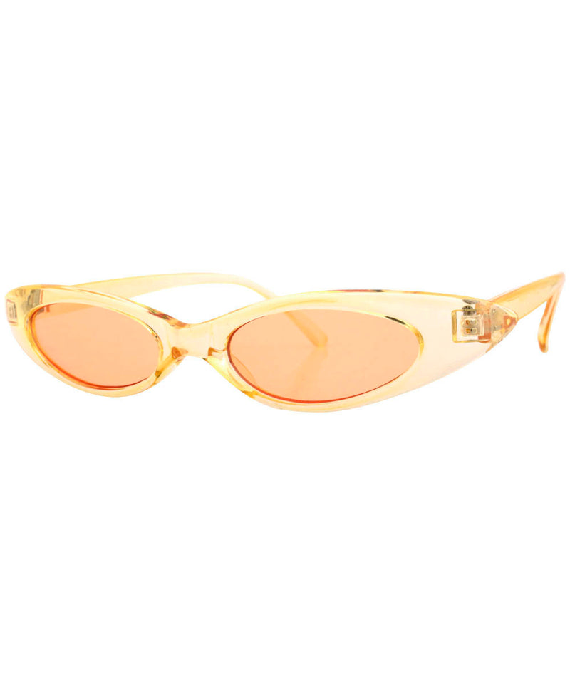 carolina champale amber sunglasses