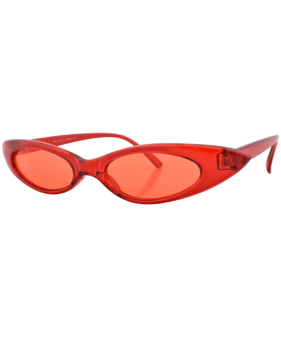 carolina red red sunglasses
