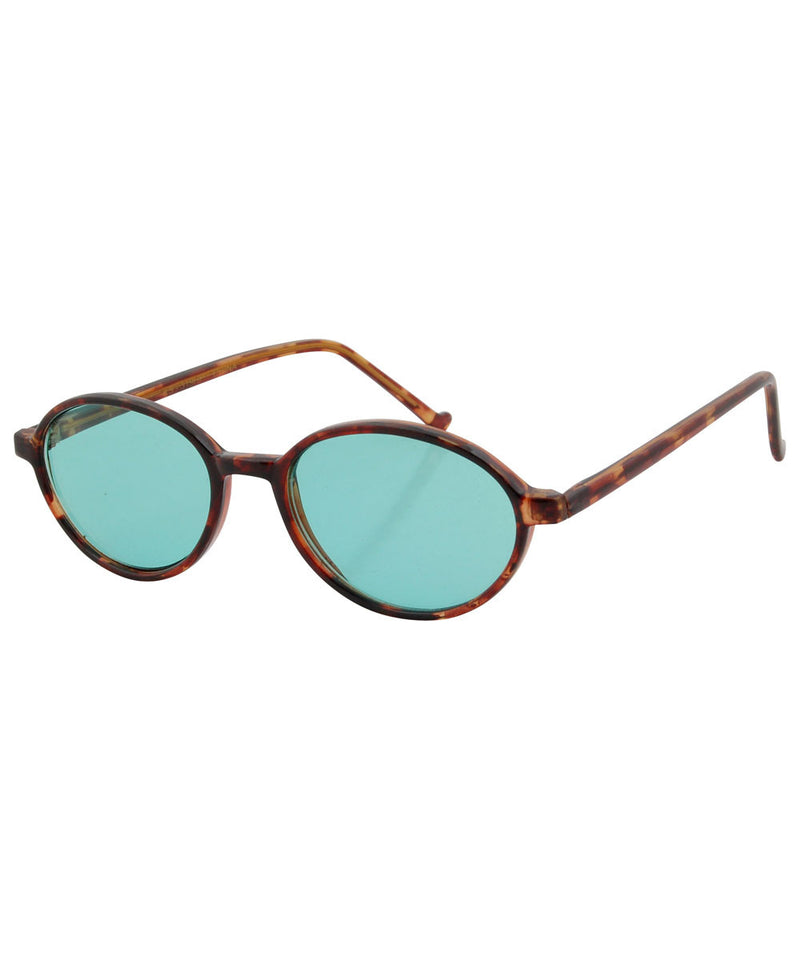 carter demi green sunglasses