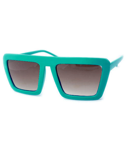 cartoon teal sunglasses