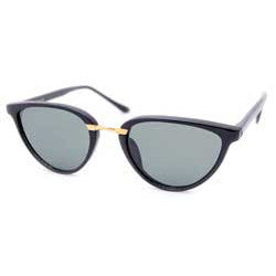cass black sunglasses
