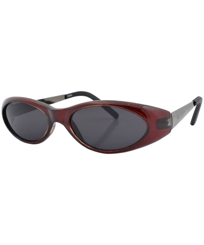 CAT-TAGEOUS Maroon Cat-Eye Sunglasses