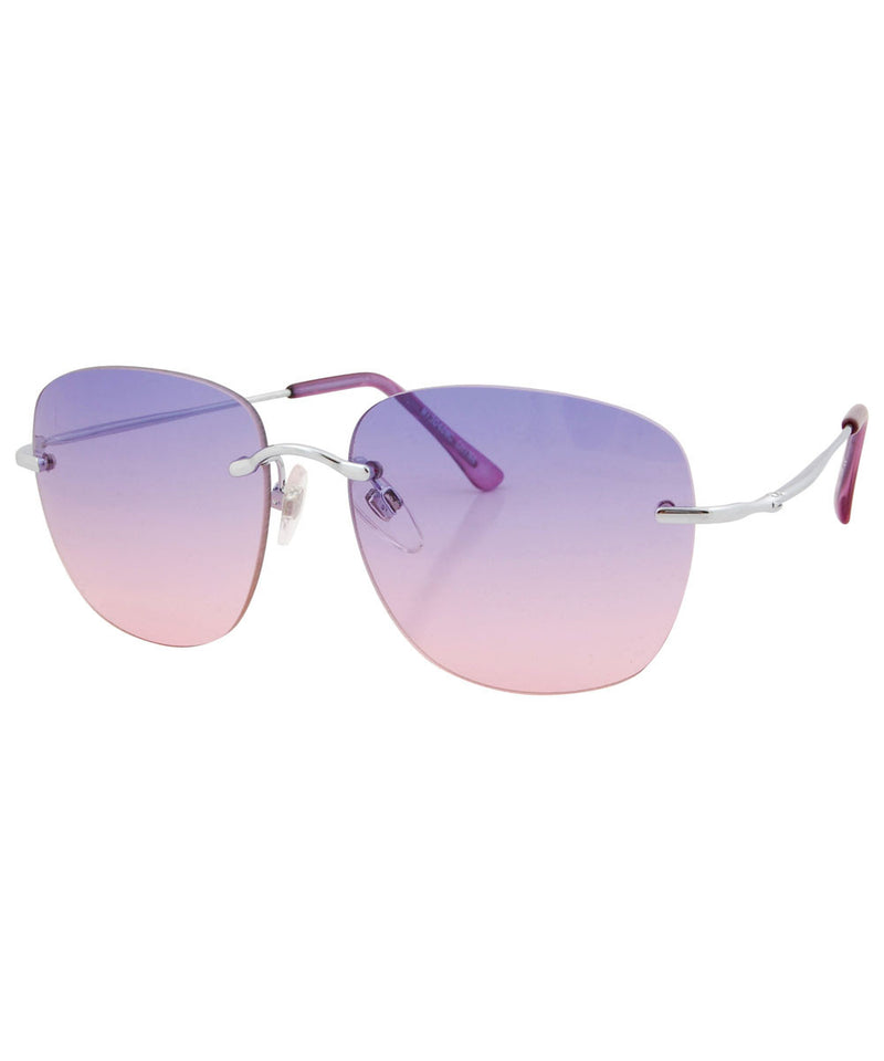 celestial purple pink sunglasses