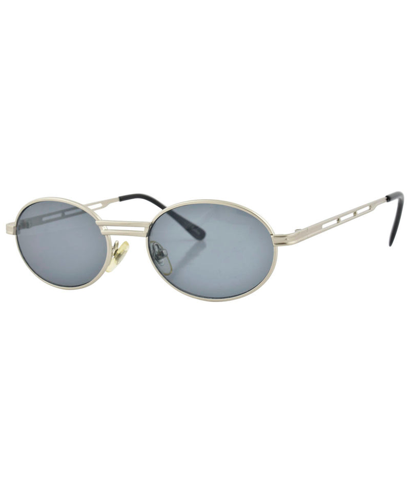 chambered alloy sunglasses