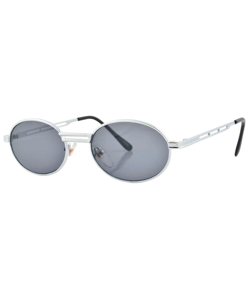 chambered chrome sunglasses