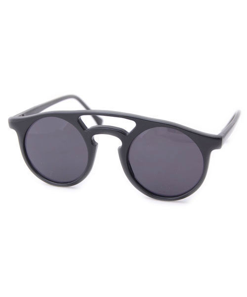 chance matte black sunglasses