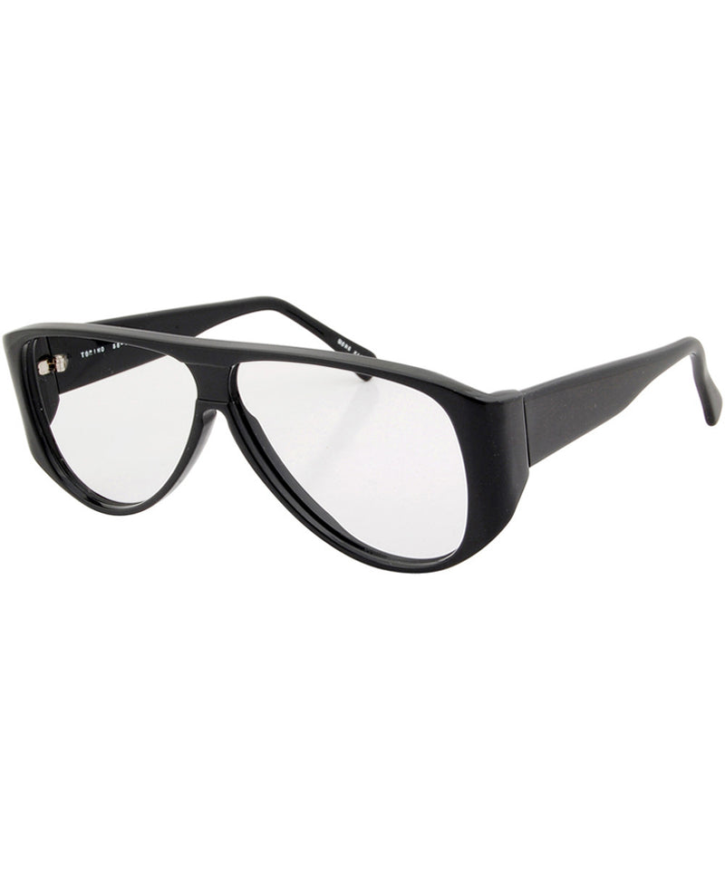 chapo black clear sunglasses