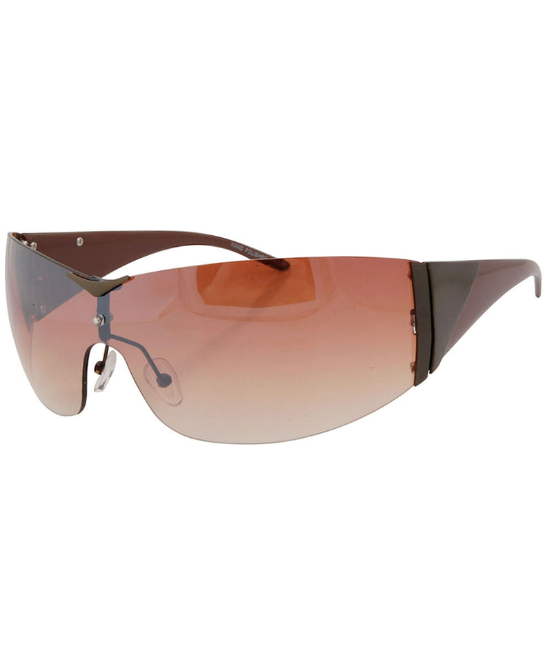 charged brown brown sunglasses