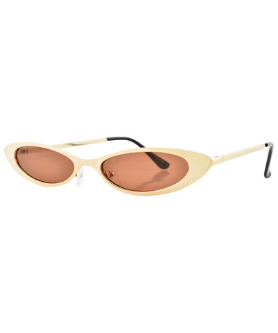 charleston gold brown sunglasses