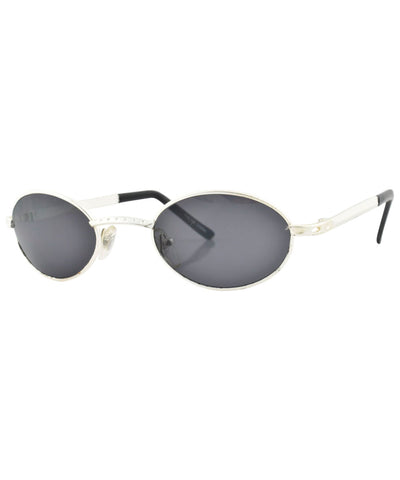 charles matte silver sunglasses