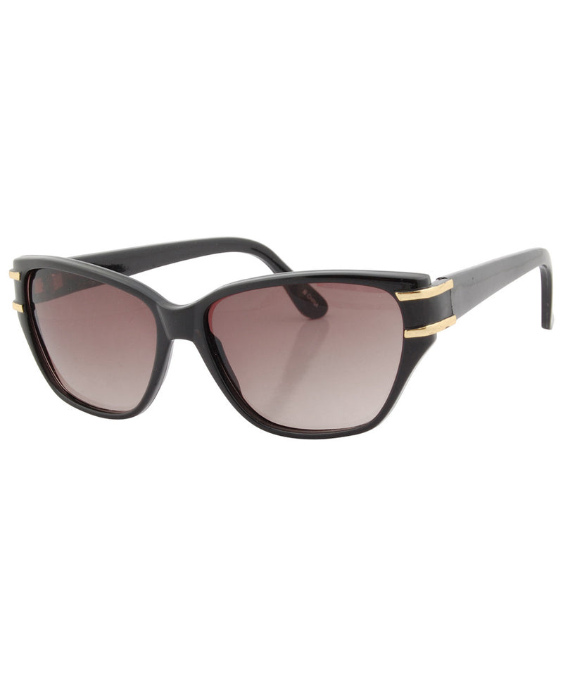 chatty black sunglasses