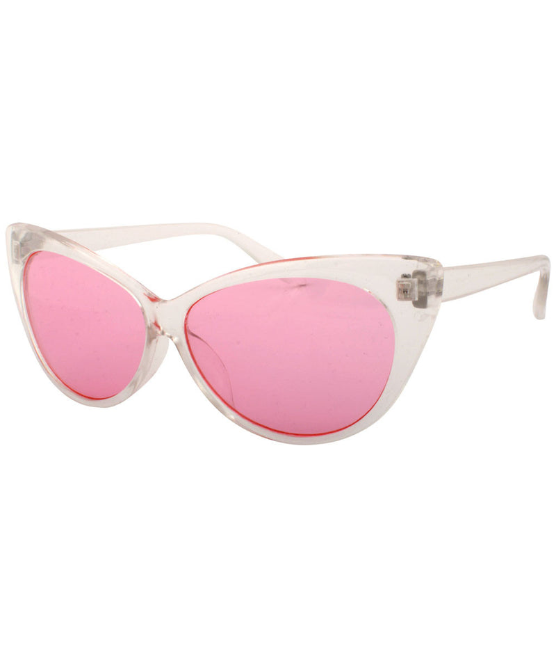 chick a dee crystal pink sunglasses