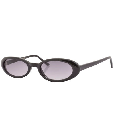 chiklet black smoke sunglasses