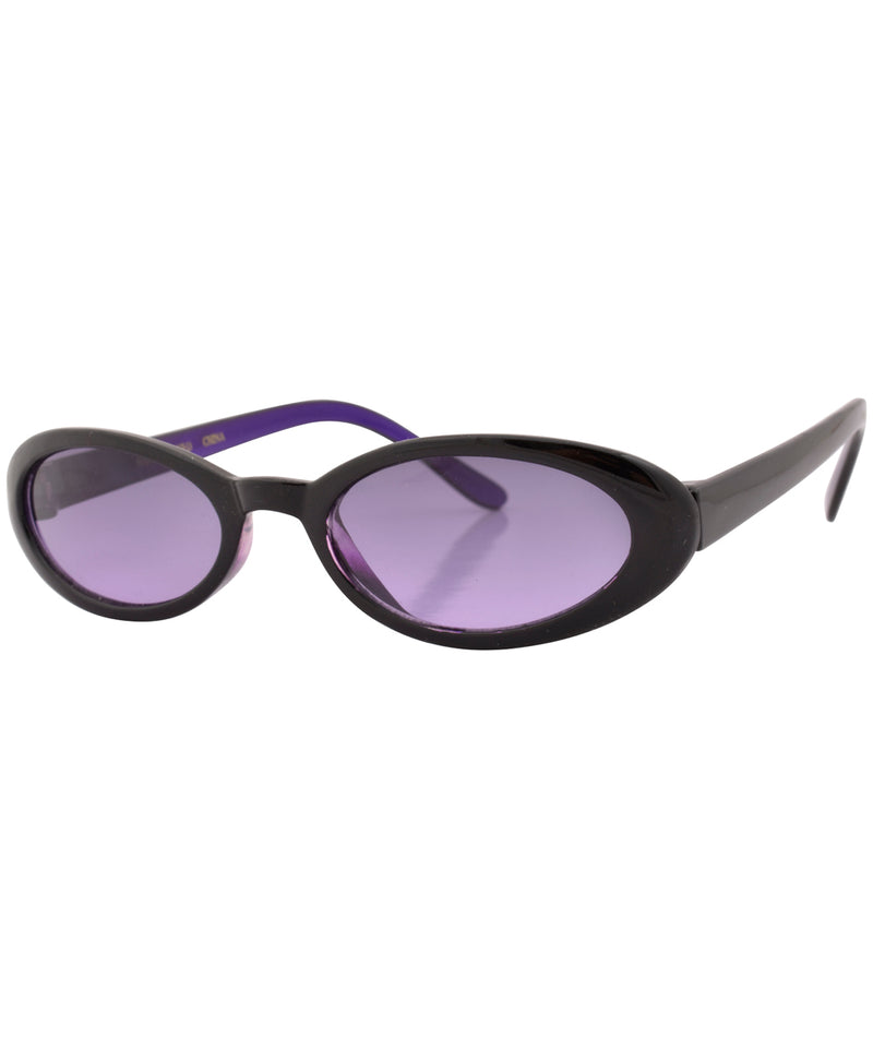 chiklet purple sunglasses