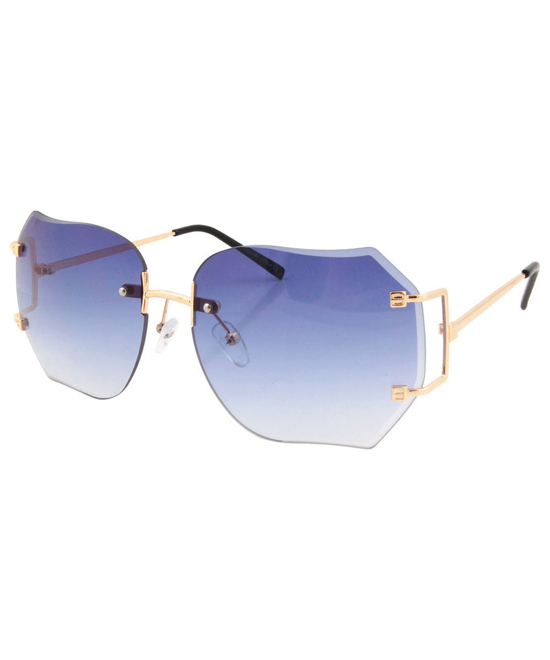 chirp blue gradient sunglasses