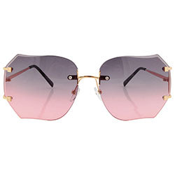 chirp smoke pink sunglasses