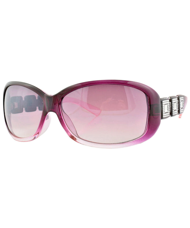 christie purple sunglasses