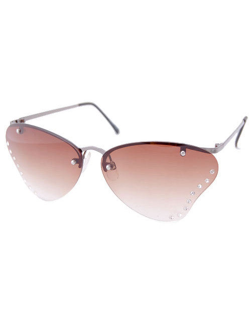 chrysalis brown sunglasses