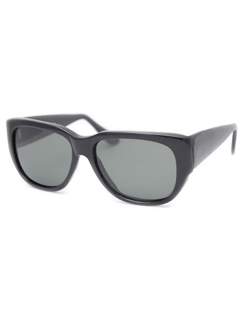 the city black sunglasses
