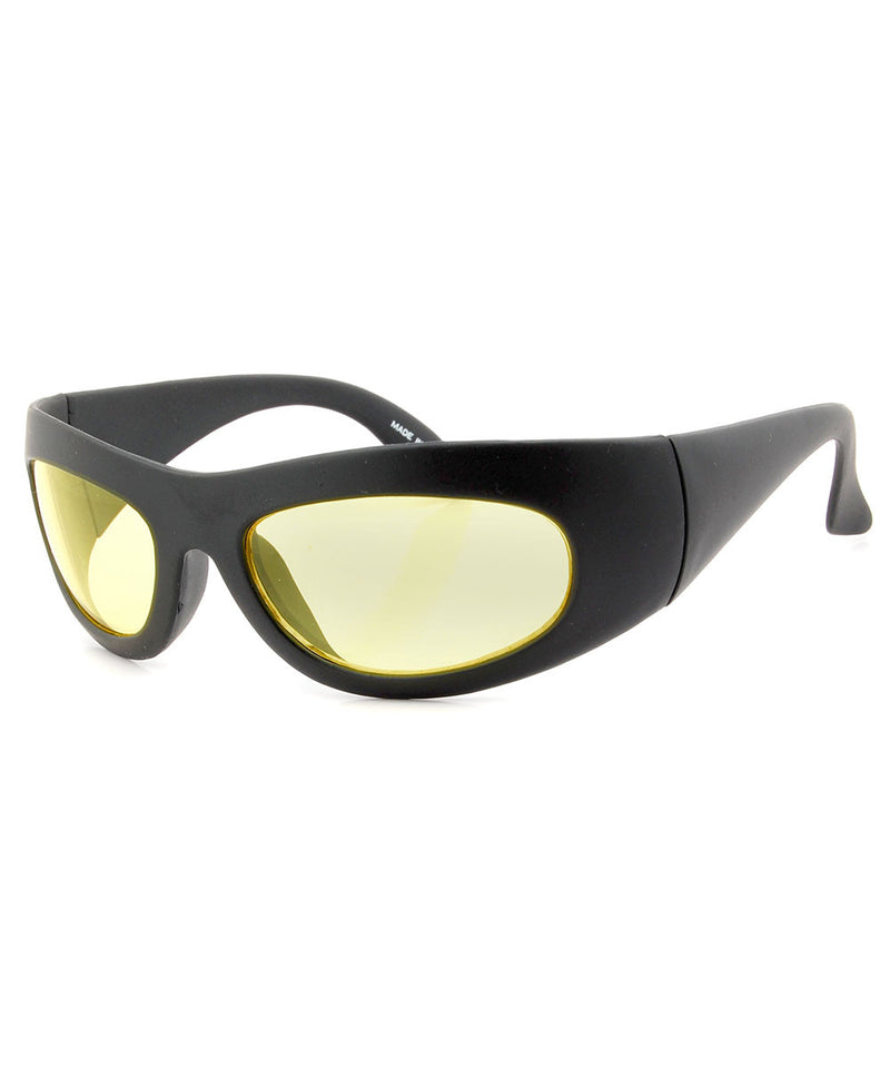clank black sunglasses