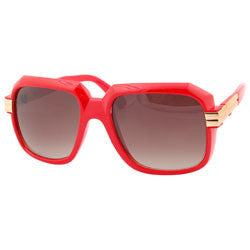clarence red sunglasses