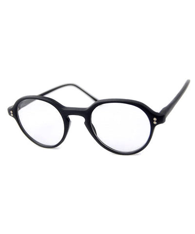 clerk matte black sunglasses