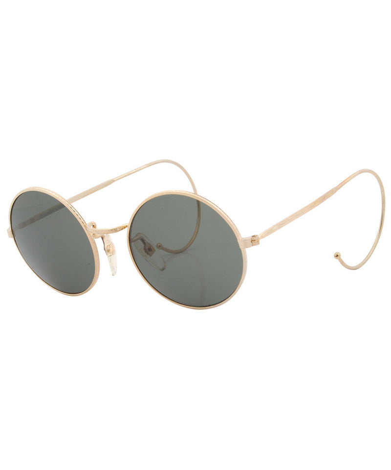 clockwork gold sunglasses