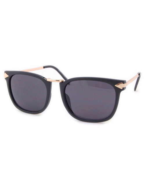 clovis matte black sunglasses