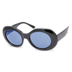 cobain black blue sunglasses