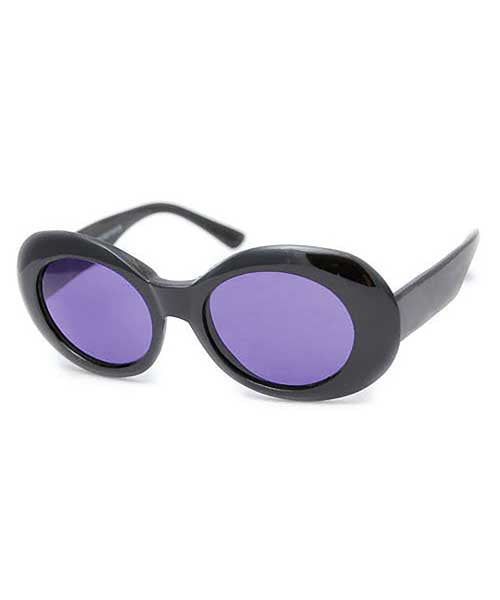 cobain black purple sunglasses