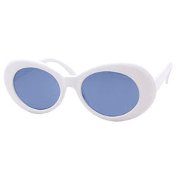 cobain white blue sunglasses
