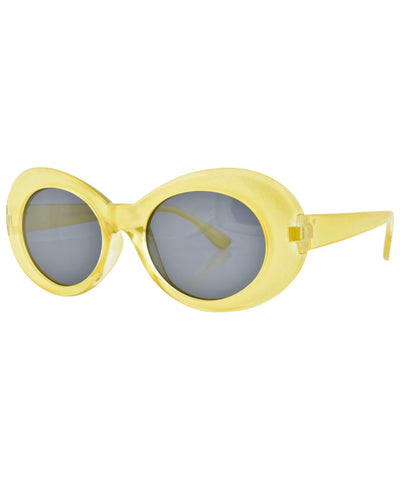 cobain pearl yellow sunglasses